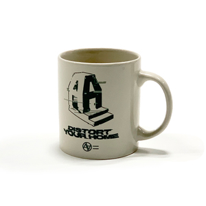 AA= DISTORT YOUR HOME MUG